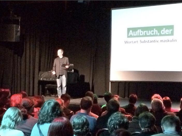 Jan Eggers, Social Media Manager beim Hessischen Rundfunk moderiert den 56. #wmfra
