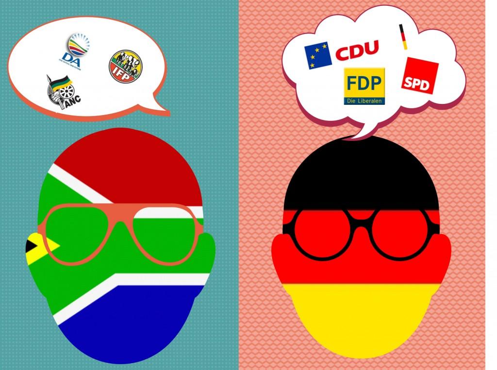 Politische Kommunikation in Südafrika und Deutschland